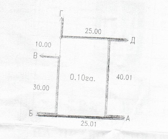 Продается земельный участок на ул. Санаторная — 90 000 у.е.