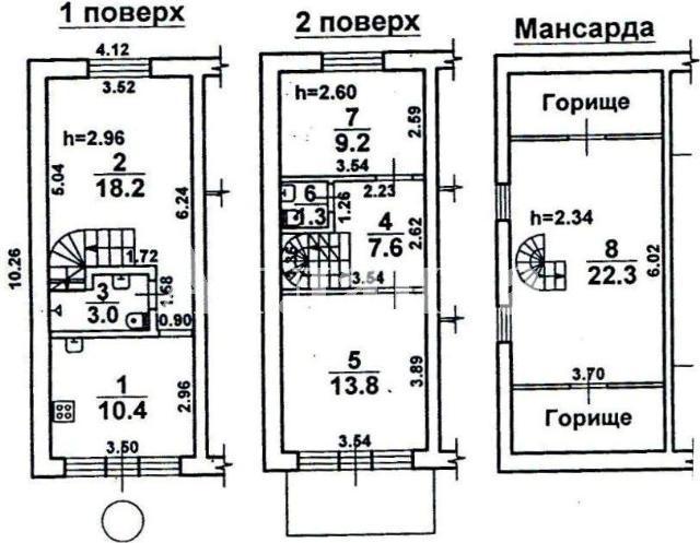 Продается дом на ул. Черноморского Казачества — 200 000 у.е. (фото №2)