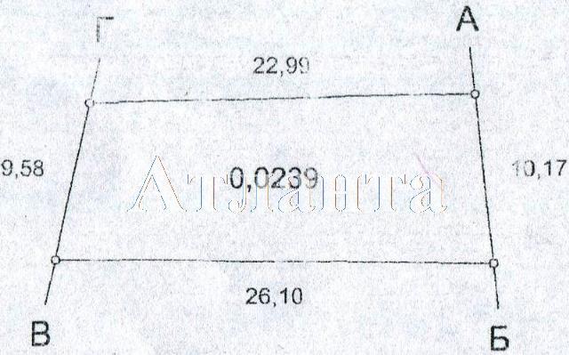 Продается земельный участок на ул. Центральная — 110 000 у.е.