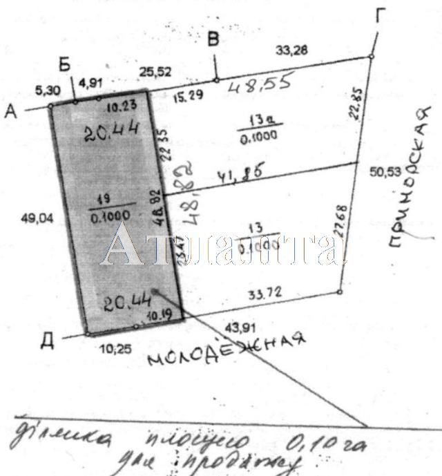 Продается земельный участок на ул. Приморская — 570 000 у.е.