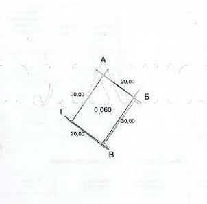 Продается земельный участок на ул. Цветочная — 40 000 у.е.