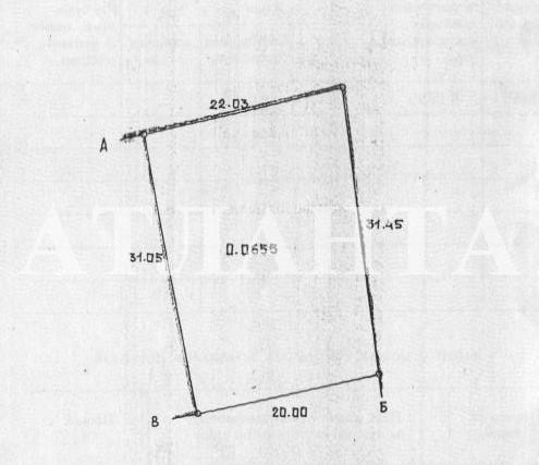 Продается земельный участок на ул. Тенистая — 15 000 у.е.