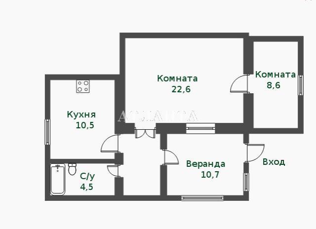Продается дом на ул. Платановая — 69 000 у.е. (фото №9)