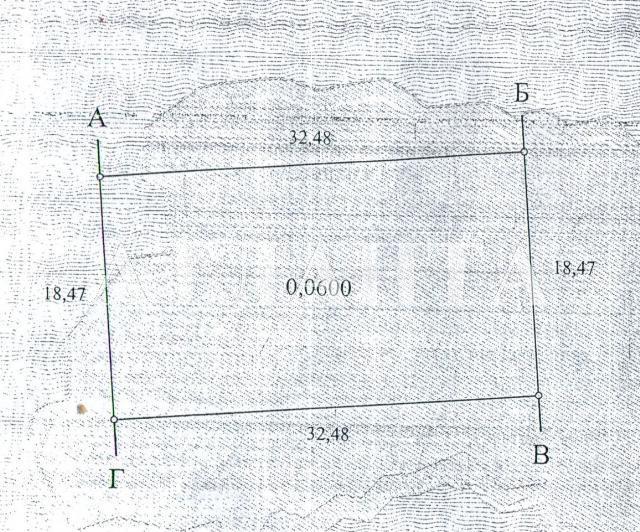 Продается земельный участок на ул. Лянного Ак. — 14 000 у.е.