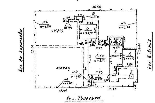 Продается земельный участок на ул. Тульская — 450 000 у.е.