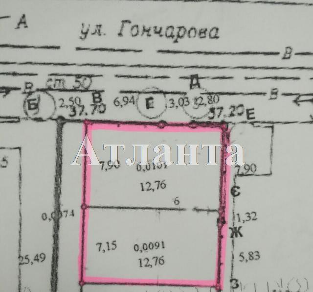 Продается земельный участок на ул. Гончарова — 31 500 у.е.