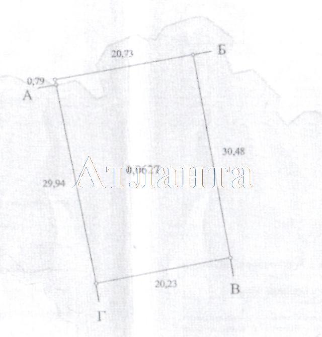 Продается земельный участок на ул. Розовая — 2 400 у.е.