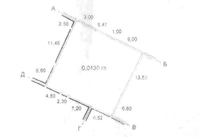 Продается земельный участок на ул. Офицерская — 42 000 у.е.
