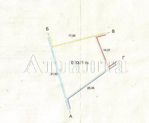Продается земельный участок на ул. Мичурина — 41 000 у.е.