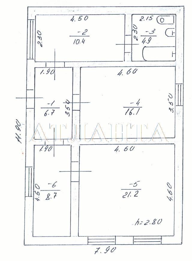 Продается дом на ул. Оборонная — 53 000 у.е.