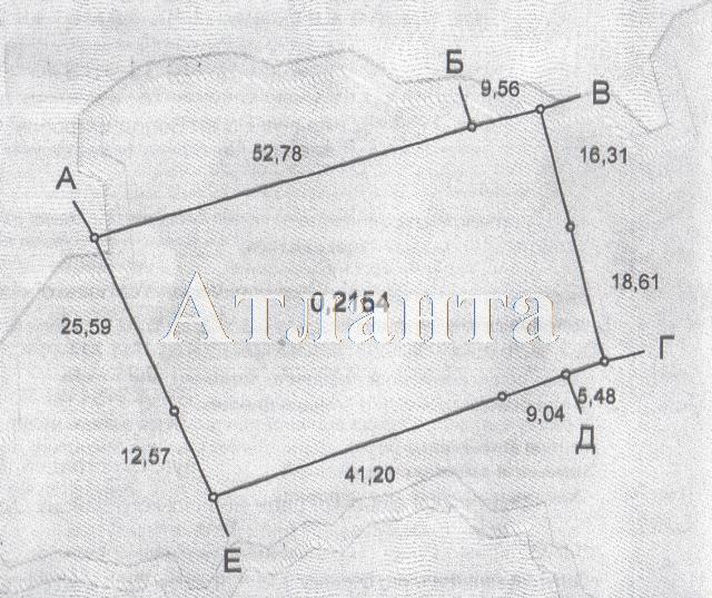 Продается земельный участок на ул. Виноградная — 18 000 у.е.