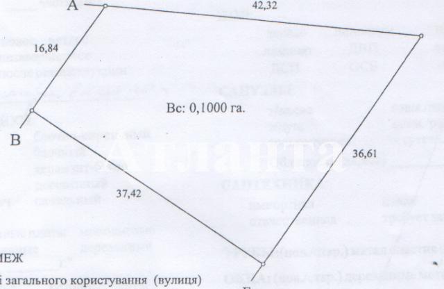 Продается земельный участок на ул. Хуторской Пер. — 4 000 у.е.