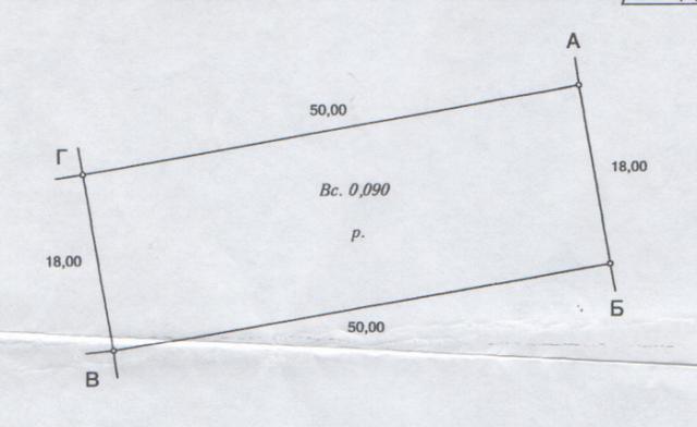 Продается земельный участок на ул. Веселая — 12 000 у.е.