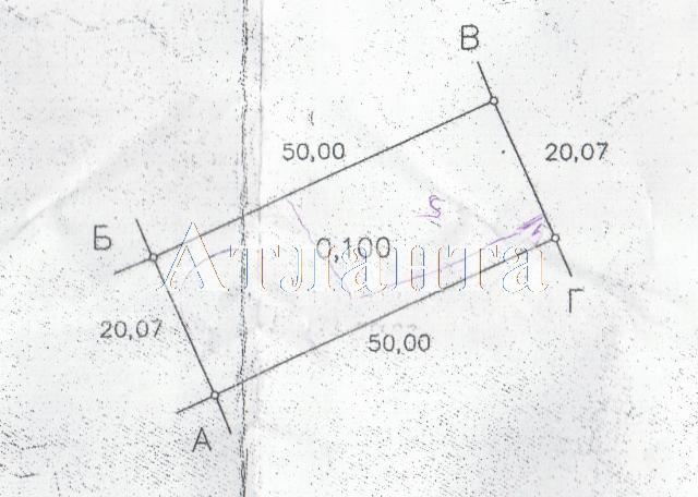 Продается земельный участок на ул. Тихая — 13 500 у.е.