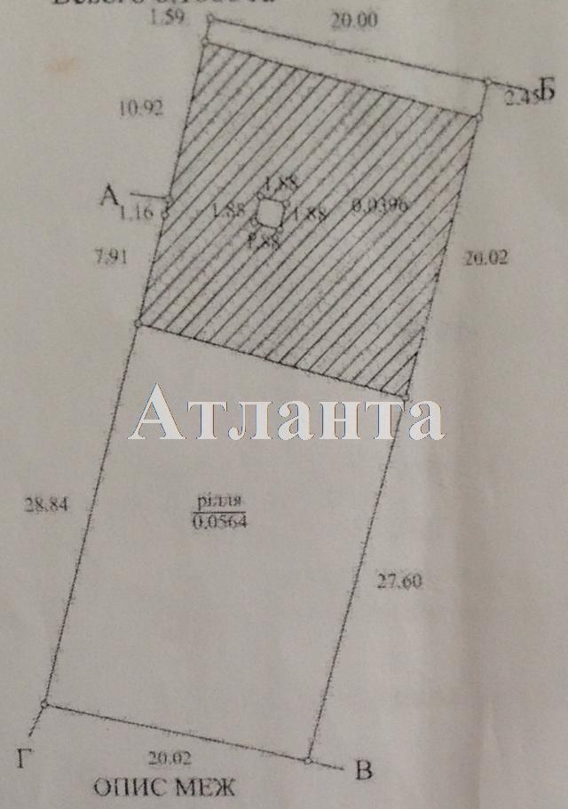 Продается земельный участок на ул. Водяной Пер. — 6 000 у.е.