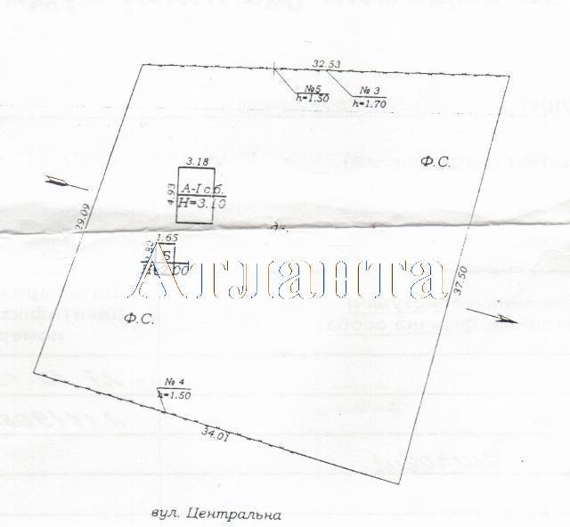Продается земельный участок на ул. Центральная — 70 000 у.е.