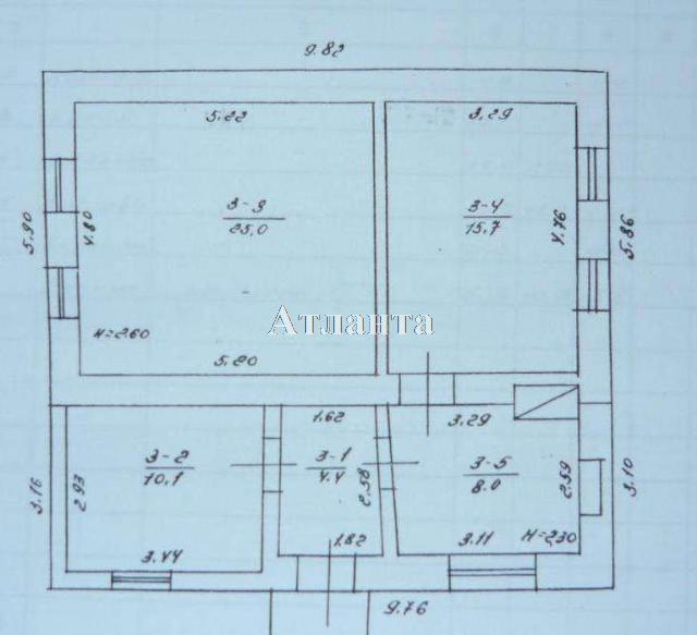 Продается дом на ул. Обнорского — 40 000 у.е. (фото №6)