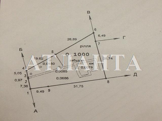 Продается земельный участок на ул. Абрикосовая — 120 000 у.е.
