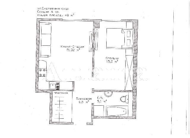 Продается 2-комнатная квартира в новострое на ул. Екатерининская — 78 000 у.е. (фото №9)
