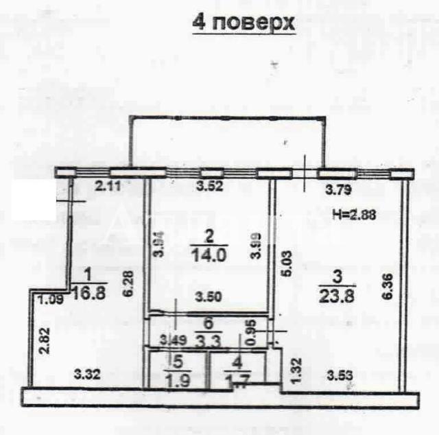 Продается 3-комнатная квартира на ул. Дерибасовская — 100 000 у.е. (фото №2)