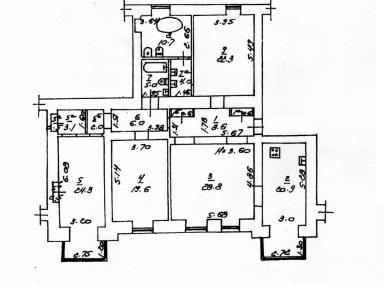 Продается 4-комнатная квартира на ул. Соборная Пл. — 400 000 у.е. (фото №16)