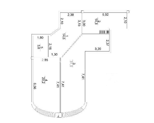 Продается 1-комнатная квартира в новострое на ул. Макаренко — 60 200 у.е. (фото №6)