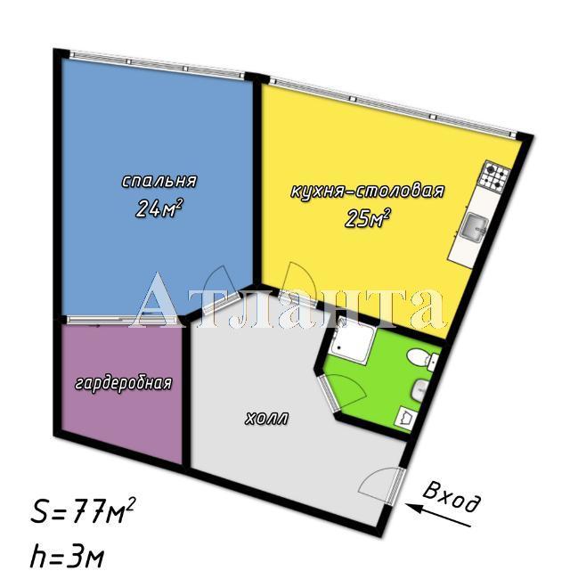 Продается 1-комнатная квартира в новострое на ул. Литературная — 140 000 у.е. (фото №2)
