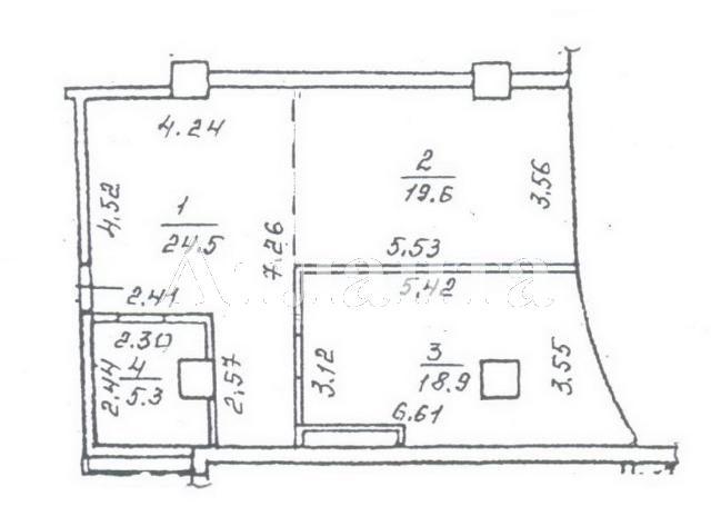 Продается 1-комнатная квартира в новострое на ул. Генуэзская — 70 000 у.е. (фото №4)