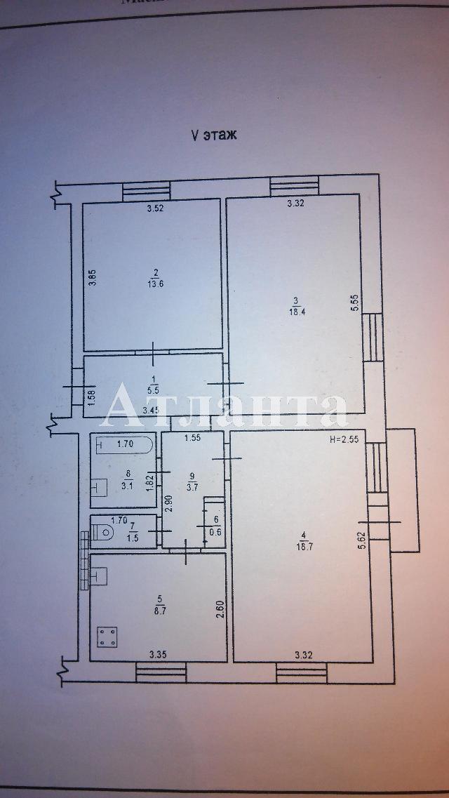 Продается 3-комнатная квартира на ул. Проспект Шевченко — 90 000 у.е. (фото №7)