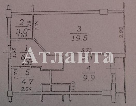 Продается 1-комнатная квартира в новострое на ул. Жемчужная — 49 900 у.е. (фото №11)