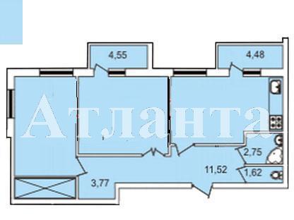 Продается 2-комнатная квартира в новострое на ул. Педагогическая — 57 000 у.е. (фото №2)