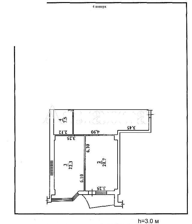 Продается 1-комнатная квартира в новострое на ул. Деволановский Сп. — 80 000 у.е. (фото №4)
