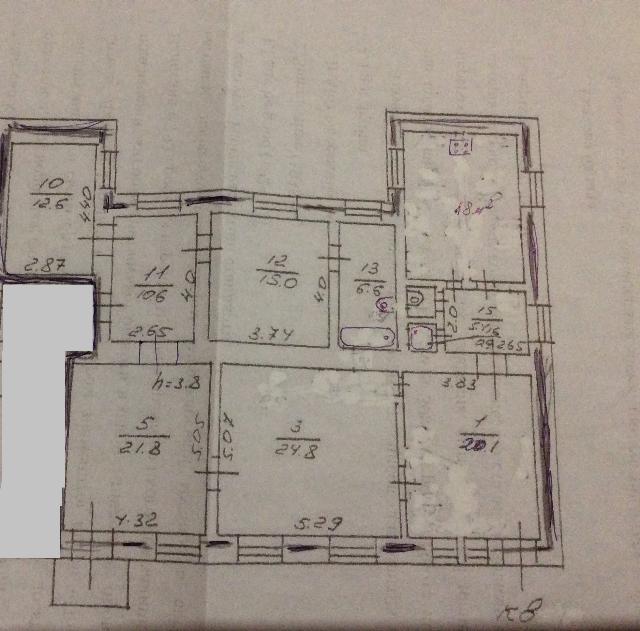 Продается 4-комнатная квартира на ул. Коблевская — 140 000 у.е. (фото №6)