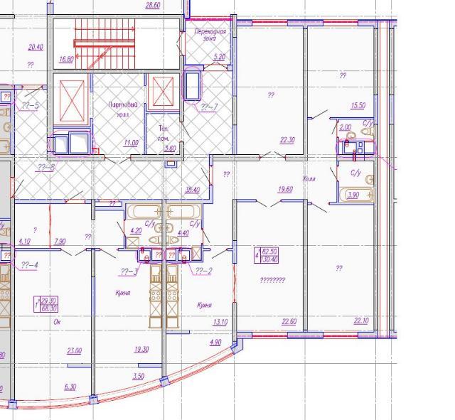 Продается 3-комнатная квартира в новострое на ул. Аркадиевский Пер. — 155 000 у.е. (фото №2)