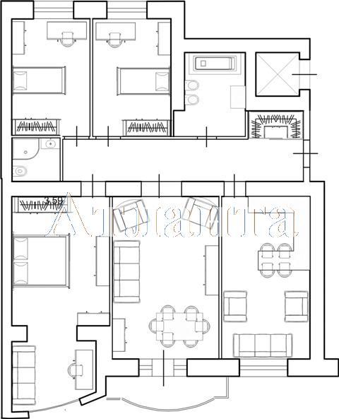 Продается 3-комнатная квартира в новострое на ул. Маразлиевская — 210 000 у.е. (фото №4)
