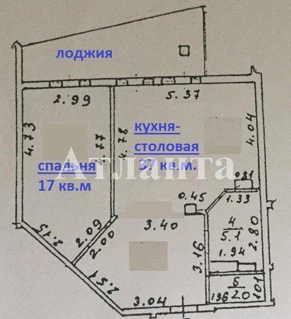 Продается 2-комнатная квартира в новострое на ул. Военный Сп. — 110 000 у.е. (фото №2)