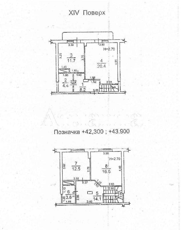 Продается 3-комнатная квартира в новострое на ул. Косвенная — 90 000 у.е. (фото №17)
