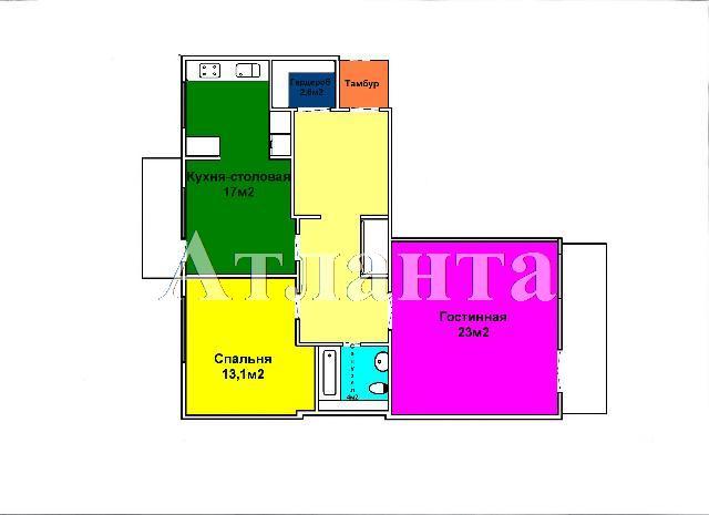 Продается 3-комнатная квартира на ул. Солнечная — 100 000 у.е. (фото №12)