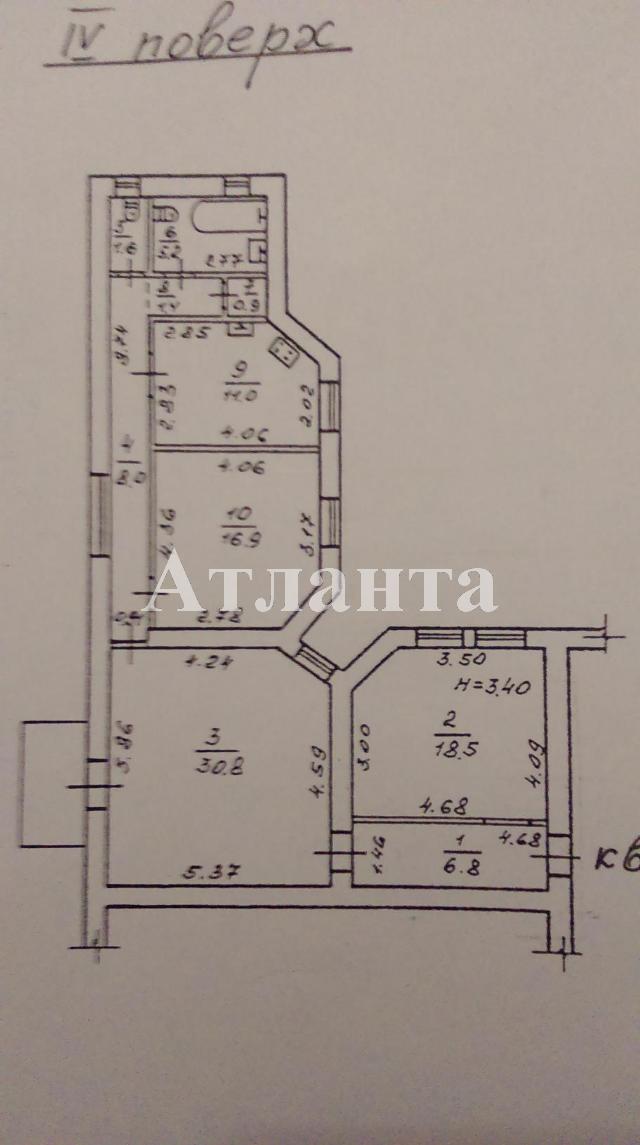 Продается 3-комнатная квартира на ул. Софиевская — 150 000 у.е. (фото №10)