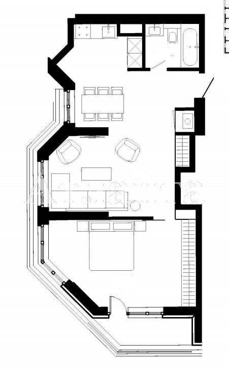 Продается 1-комнатная квартира в новострое на ул. Французский Бул. — 67 000 у.е.
