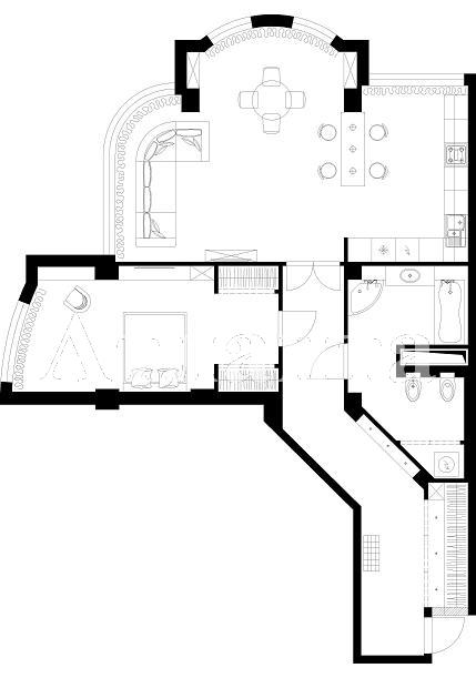 Продается 2-комнатная квартира в новострое на ул. Французский Бул. — 182 000 у.е. (фото №22)