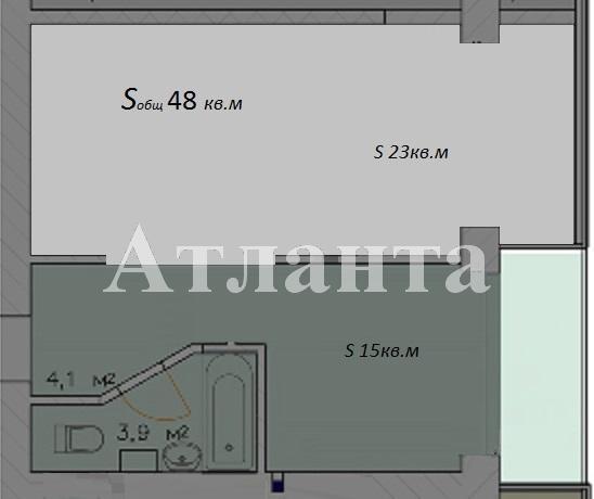 Продается 1-комнатная квартира в новострое на ул. Малиновского Марш. — 51 000 у.е. (фото №3)