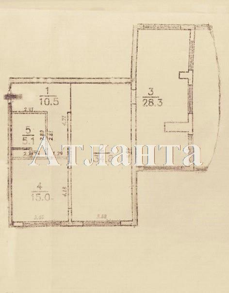 Продается 3-комнатная квартира в новострое на ул. Аркадиевский Пер. — 115 000 у.е. (фото №4)