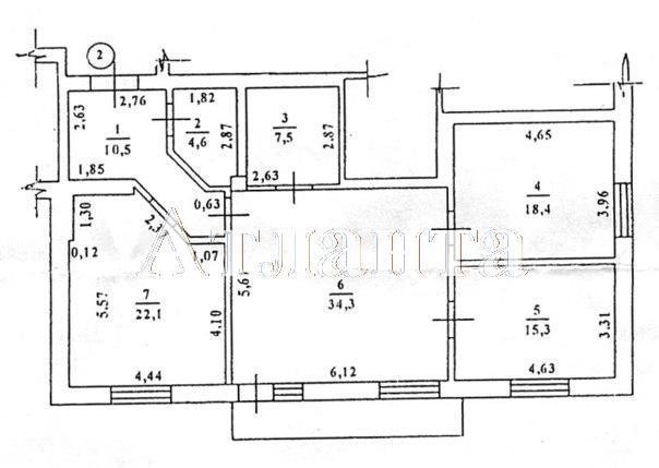 Продается 3-комнатная квартира в новострое на ул. Преображенская — 125 000 у.е. (фото №6)
