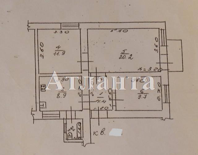 Продается 3-комнатная квартира на ул. Степовая — 60 000 у.е. (фото №12)