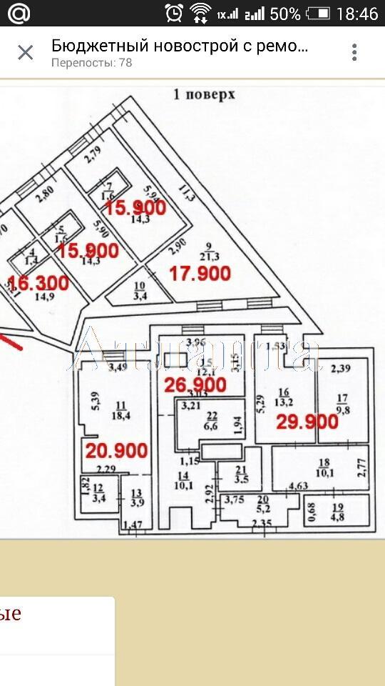 Продается 1-комнатная квартира в новострое на ул. Грушевского Михаила — 17 000 у.е.