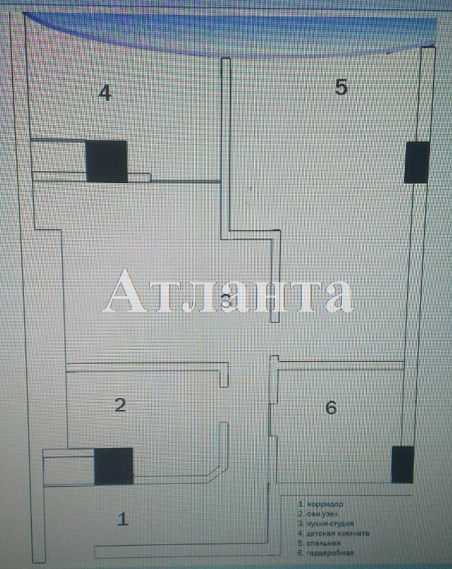 Продается 2-комнатная квартира в новострое на ул. Генуэзская — 105 000 у.е. (фото №9)