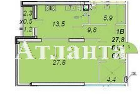 Продается 1-комнатная квартира в новострое на ул. Французский Бул. — 72 000 у.е. (фото №3)