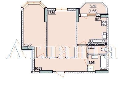 Продается 2-комнатная квартира в новострое на ул. Левитана — 42 000 у.е.