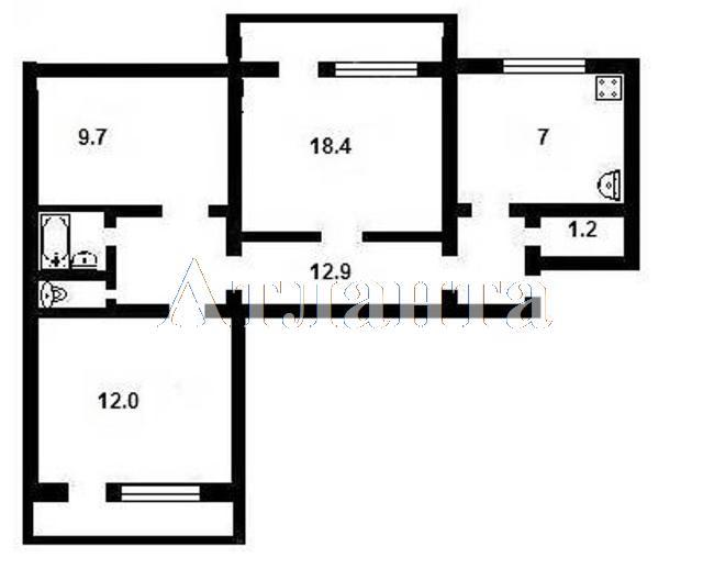 Продается 3-комнатная квартира на ул. Бугаевская — 37 000 у.е. (фото №3)